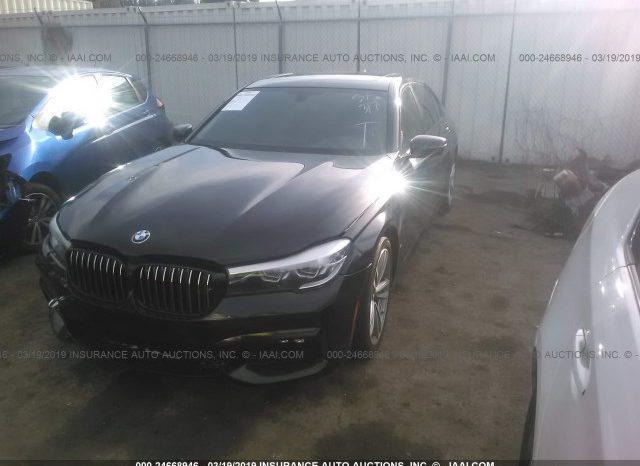 2017 BMW 740