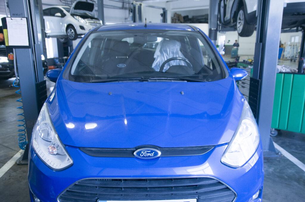 Где произвести ремонт автомобиля Ford